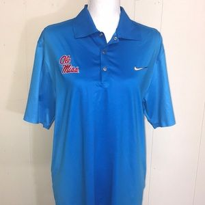 Men's Ole miss Nike polo size small